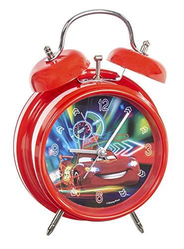 Disney Pixar EL51059 - Cars Wecker, 12 cm