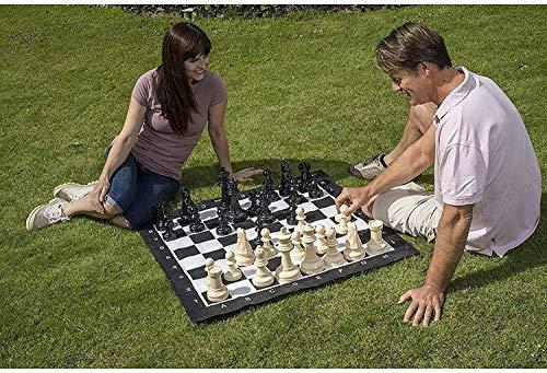 Chess Juego de Ajedrez Juegos de jardín Tradicional Jardín de ajedrez de ajedrez Inteligencia, divisas LQHZWYC
