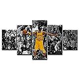 Kobe Bean Bryant Poster Kunstgemälde, 5-teiliges