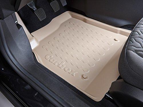Fussmatten-Deluxe 33221173 Fussraumschalen Set 2-teilig Fahrermatte + Beifahrermatte beige passend für das unten genannte Fahrzeug. Bitte die Hinweise beachten!