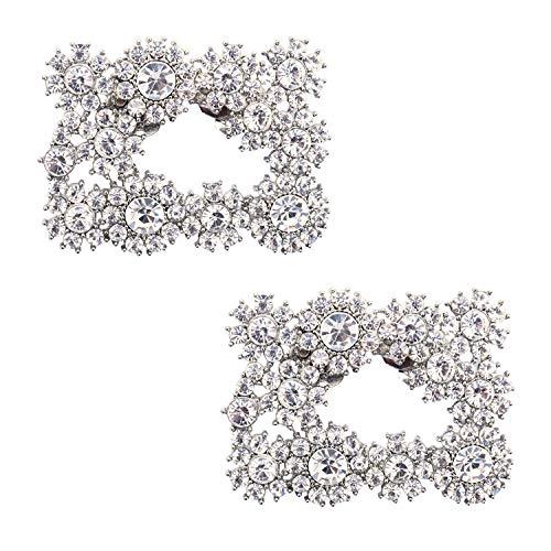 Duosheng & Elegant DH Decoraciones de zapatos Encantos Regalo de fiesta de...