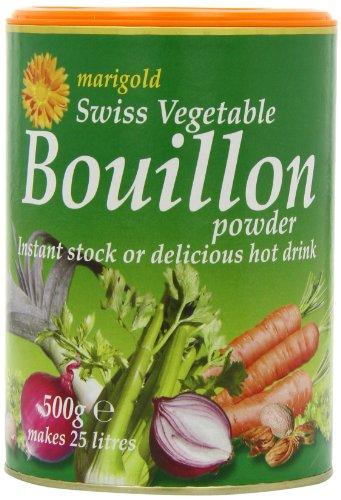 GroceryCentre Marigold Swiss Vegetable Bouillon 500 g, 2er Pack(2 x 0.1 g)
