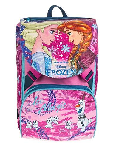Seven Zaino Estensibile Big Frozen Ice Magic, Rosa, 28 Lt