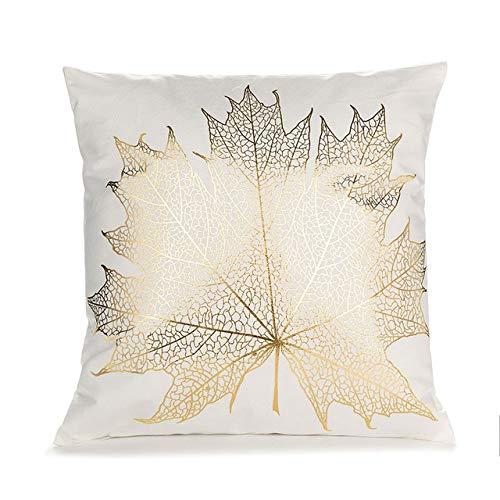 RAQ Zwart Wit Bronzing kussensloop sierkussen zitkussen mode huisdecoratie geometrisch werp kussen sofa kussensloop 450mm*450mm F