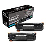 NoahArk Compatible para HP CF279A 79A Cartucho de tóner para HP Laserjet Pro M12w M12a, Impresora MFP M26nw M26a (2 Negro)