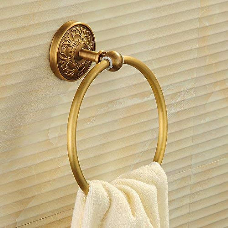 Towel Rack Towel Ring Round Continental Towel Ring Towel Rail Towel Ring Bathroom Copper 150mm 200mm Bathroom Towel Shelf