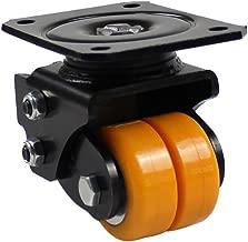 casters_2 inch Heavy Duty 2.5 inch Aluminum core Driven Wheel 3 inch Shock Absorbing Universal Wheel Shock Absorber agv Robot Wheel No Noise Loading 200kg