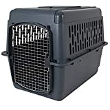 Petmate Pet Porter 2 Kennel, For Pets 50-70 Pounds,  Dark Gray, 36' (21183)
