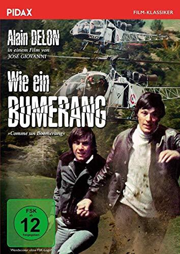 Wie ein Bumerang (Comme un Boomerang) / Spannender Gangsterthriller mit Alain Delon (Pidax Film-Klassiker)