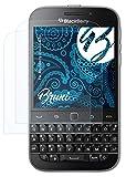 Bruni Schutzfolie kompatibel mit BlackBerry Classic Q20 Folie, glasklare Bildschirmschutzfolie (2X)
