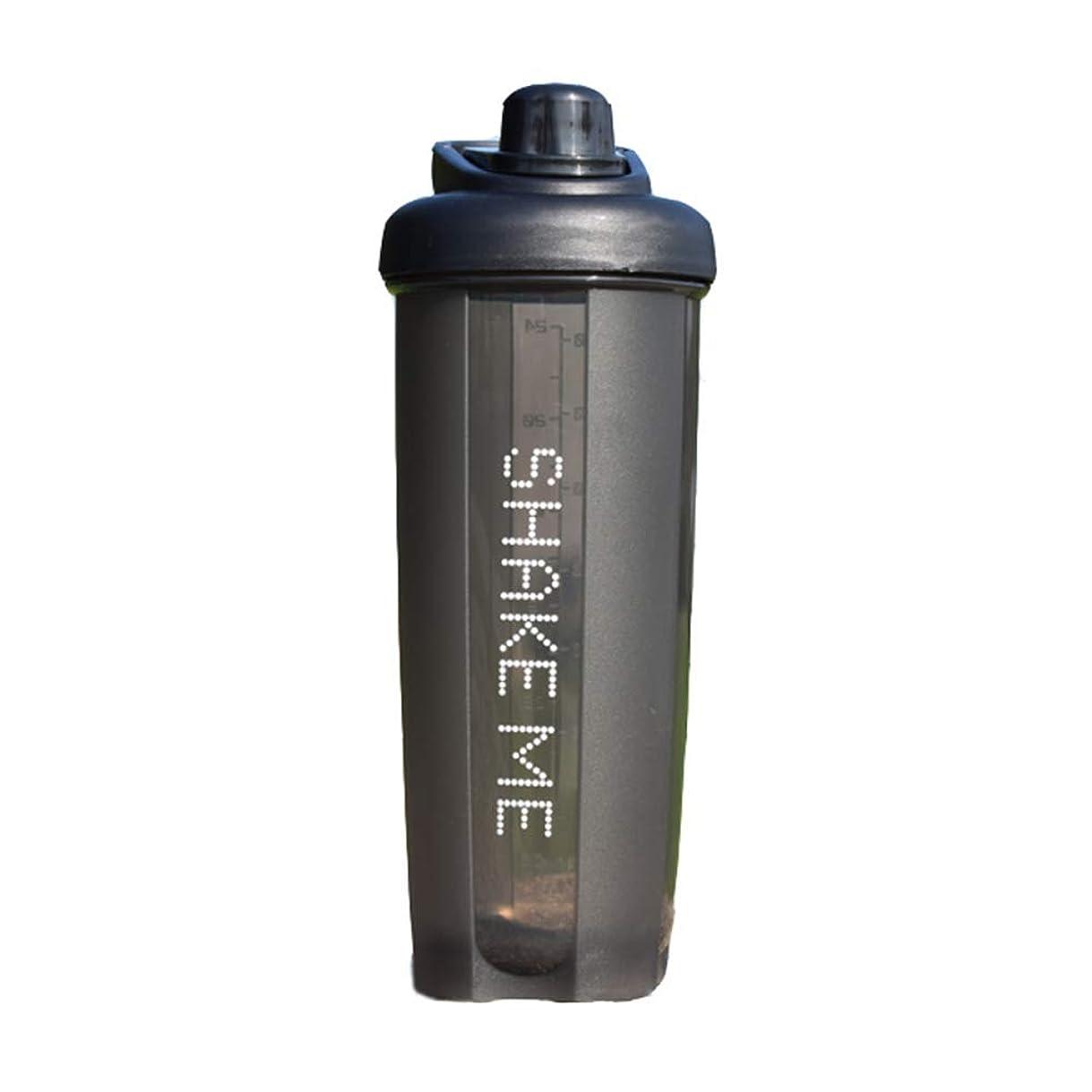 イースター仲介者面倒GOIOD ブレンダーボトル ミキサー シェーカー ボトル Classic (500-700ml) ブラック