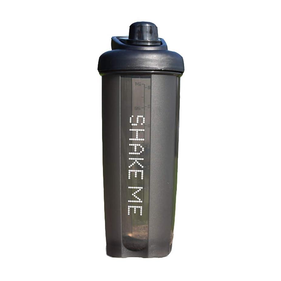 耐えられる息を切らしてオーケストラGOIOD ブレンダーボトル ミキサー シェーカー ボトル Classic (500-700ml) ブラック