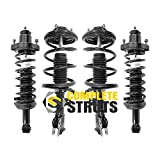 COMPLETESTRUTS - Front & Rear Complete Strut Assemblies with Coil Springs Replacement for 2008-2010 Mitsubishi Lancer - Set of 4
