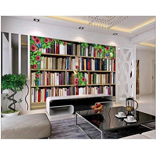 Pbbzl Aangepaste 3D Behang 3D Muren Behang Muurschildering 3D Bloem Instelling Wandplank 3D Woonkamer Wandpapier Home Decor 200 x 140 cm.
