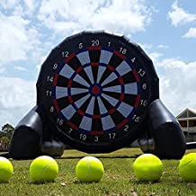 Outdoor Inflatable Soccer Darts Board with 6pcs Ball for Sports Game 10ft/3m