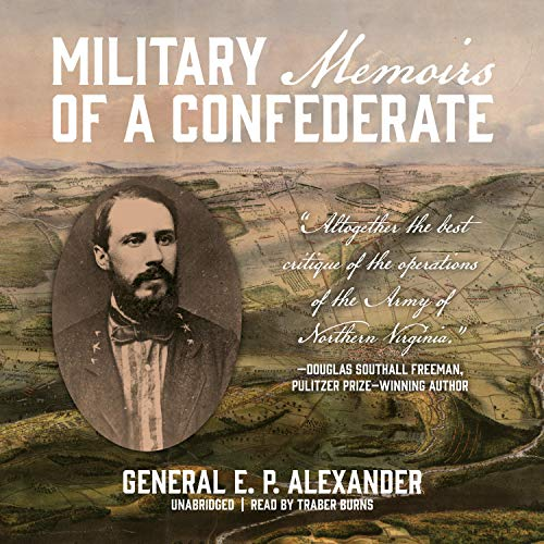 Military Memoirs of a Confederate cover art