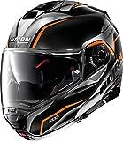 Nolan - Casco N100-5 Balteus N-Com Glossy negro XXL Negro