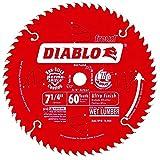 Diablo D0760A 7-1/4'x60T Ultra Fine Finishing Saw Blade 5-Pack