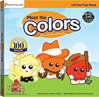 Meet the Colors Lift the Flap Book 0977021548 Book Cover