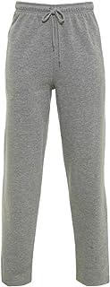 Parsa Fashions Mens Open Hem Jog Pants/Men Plain Jogging Bottoms Joggers Fleece Pants Gym Sports Trousers Plus Sizes Small...