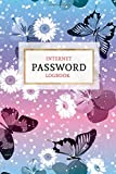 Internet Password Logbook: Keep your Passwords Organized in Style   Password Logbook, Password Keeper, Online Organizer Butterfly Design: Volume 1 (Password Books)