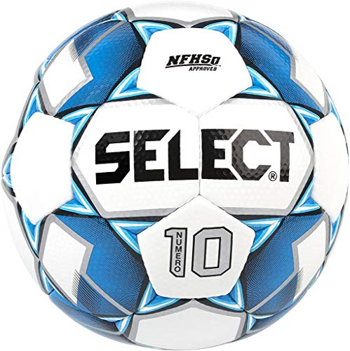 Select Bundle of 10 Numero 10 Soccer Ball Blue Size 5...