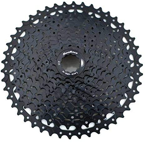 SunRace CSMS8 - Casete de gran relación 11-46T, 11 velocidades, color negro, XTE1381