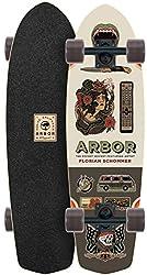 top rated Arbor Pocket Rocket AC2017 Mini Cruiser Longboard Skateboard New 2021