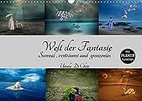 Welt der Fantasie - Surreal, vertraeumt und grenzenlos (Wandkalender 2022 DIN A3 quer): Surreale Bildkompositionen - Lassen Sie der Fantasie freien Lauf (Geburtstagskalender, 14 Seiten )
