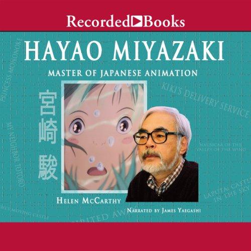 Hayao Miyazaki audiobook cover art