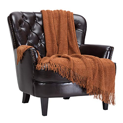 Chanasya Round Pearl Textured Super Soft Acrylic Throw Blanket with