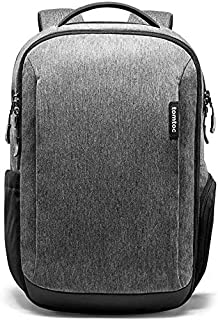 Travel Laptop Backpack, tomtoc Waterproof College School Bookbag Computer Bag for 15.6 inch Laptop, Business Backpack Daypack Rucksack with Many Pockets for Men/Women
