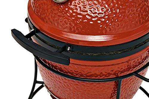 Kamado Joe Jr. KJ13RH Charcoal Grill 13.5 inch Blaze Red