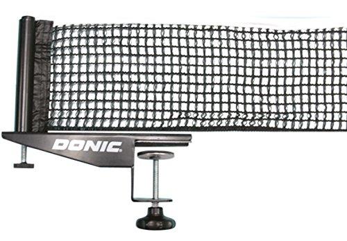 Donic Schildkröt Donic Rallye Tischtennis-netzgarnitur, schwarz/weiß, One Size