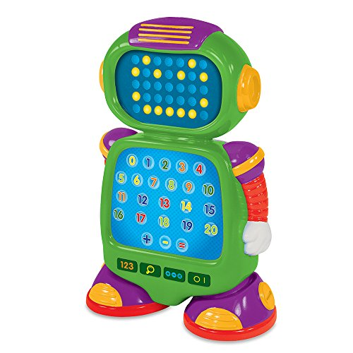 The Learning Journey 115244 Touch and Learn Numberbot - Electronic# and Math Toy, Multicolor