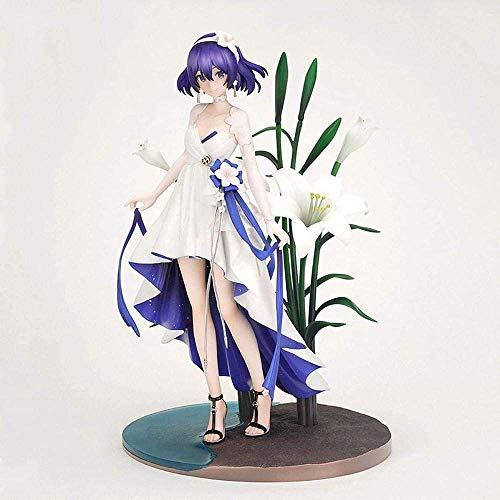 SHUMEISHOUT La nueva estatua de anime personaje MmiHoYo Anime 23CM Seele Vollerei Estatua PVC Modelo Muñeca Regalo Navidad Acción Carácter Colección Chica Conjunto