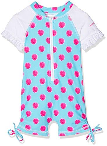 Snapper Rock kinderbadpak voor jongens en peuters, uv-bescherming, UPF 50 Plus, badpak met korte mouw voor strand & zwembad, zomer, kinderen, badkleding