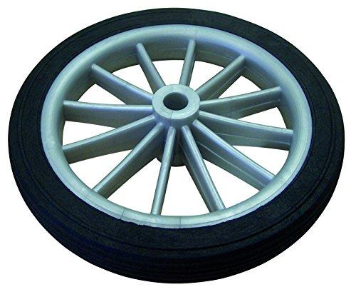HSI 256900.0 Speichenräder Kunststoff grau 137mm