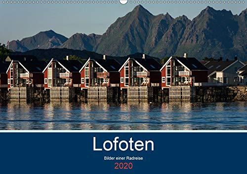 Lofoten 2020 - Bilder einer Radreise (Wandkalender 2020 DIN A2 quer): Die Lofoten, faszinierende Landschaftsaufnahmen einer Region nördlich des Polarkreises (Monatskalender, 14 Seiten )