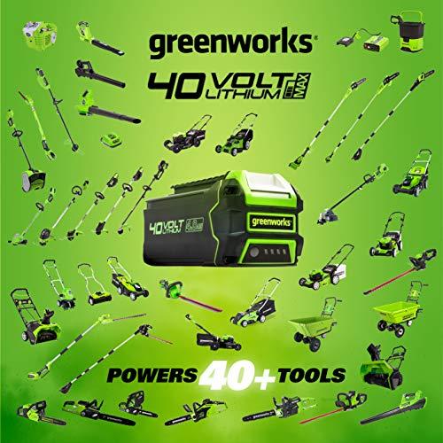Greenworks STBA40B210 G-MAX 40V Cordless String Trimmer-Leaf Blower Combo Pack