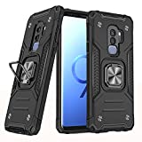 Compatible with Samsung Galaxy S9 Plus Case Ring Kickstand