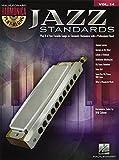 Harmonica Play-Along Volume 14: Jazz Standards (Book/CD) [Lingua inglese]
