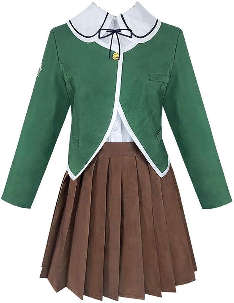 Cos-Animefly Danganronpa Chihiro Fujisaki Costume Cosplay School New Max 76% OFF product