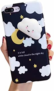 Case For LG Stylo 4, QKKE 3D Poke Squishy Cat Seal Panda Polar Bear Squeeze Stretch Compress Stress Reduce Relax Soft Silicone Relief Case for LG Stylo 4 (Cloud Black)