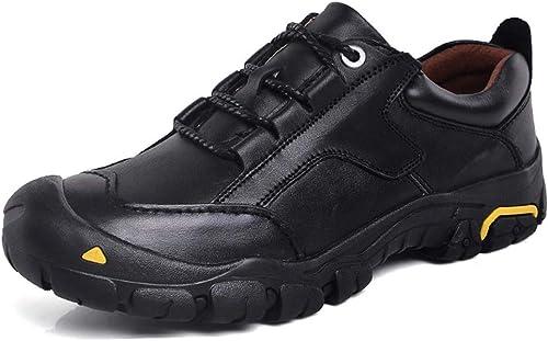 CFPPX Hommes de randonnée en Plein air Chaussures d'été Basse Taille antidérapant Amorti Chaussures de Sport Camping Trail Running Chaussures