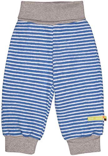 loud + proud Jungen Fleece Aus Bio Baumwolle, GOTS Zertifiziert Hose, Blau (Cobalt Cob), 80 (Herstellergröße: 74/80)