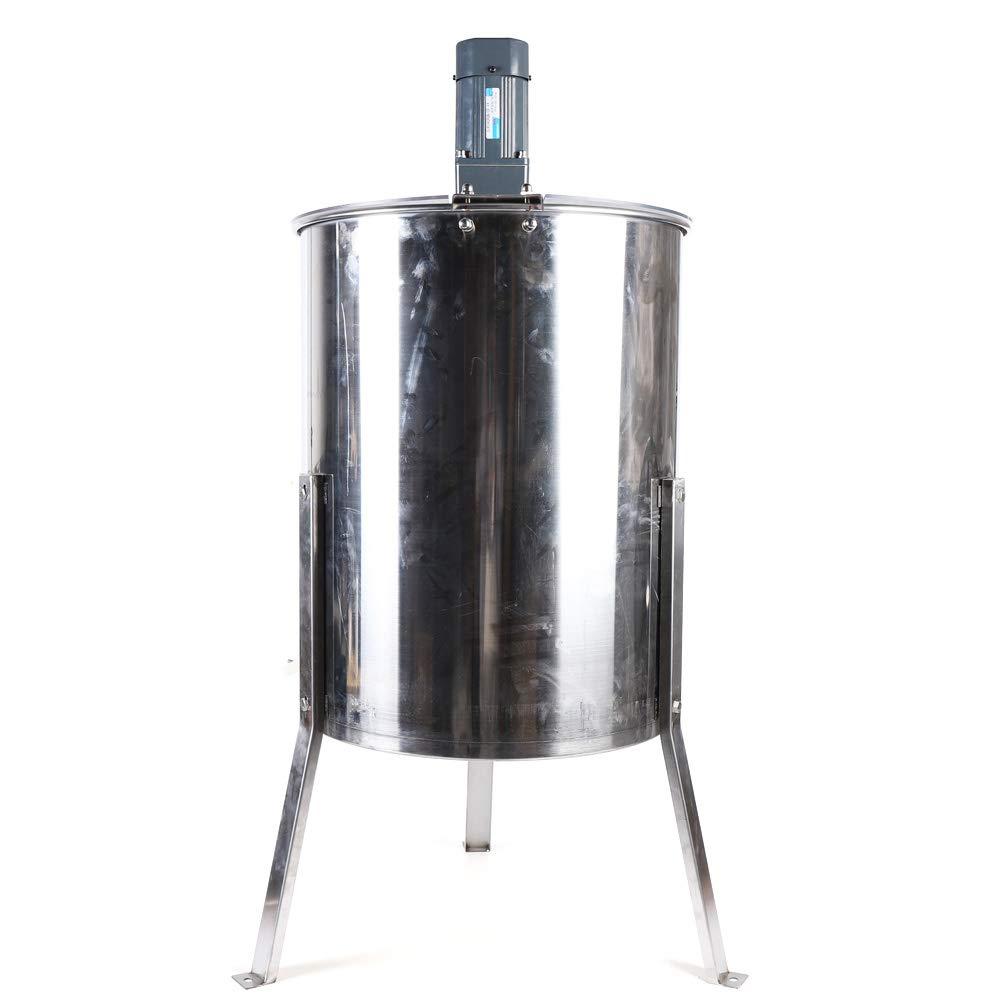 Extractor de Miel de Acero Inoxidable Equipo de Apicultor Extractor de Miel Eléctrico Extractor de Miel de 4 Cuadros