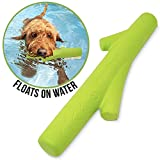 Hyper Pet Chewz Dog Toys for Large Dogs (Dog Ball, Dog Bone & Dog Stick Dog Chew Toys) [Lightweight, Resilient EVA Foam Dog Toy is Safe on Teeth, Easy to Clean, & Floats on Water for Interactive Play], Green, one size (49215EA)