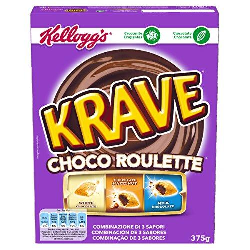 Kellogg's Choco Krave Roulette - Confezione da 375 g