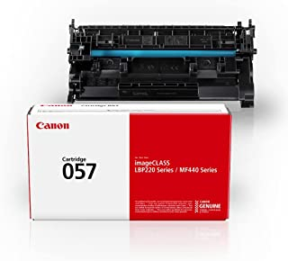 Canon Genuine Toner Cartridge 057 Black (3009C001), 1-Pack, for Canon imageCLASS MF449dw, MF448dw, MF445dw, LBP228dw, LBP2...
